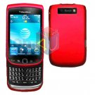 FOR BLACKBERRY TORCH 9800 COVER HARD CASE RED