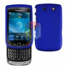 FOR BLACKBERRY TORCH 9800 COVER HARD CASE BLUE