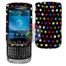 FOR BLACKBERRY TORCH 9800 COVER HARD CASE R-DOT