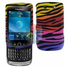 FOR BLACKBERRY TORCH 9800 COVER HARD CASE C-ZEBRA