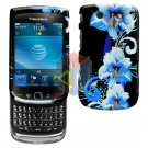 FOR BLACKBERRY TORCH 9800 COVER HARD CASE FLOWER