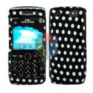 FOR BLACKBERRY PEARL 3G 9100 9105 COVER HARD CASE POLKA DOT