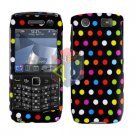 FOR BLACKBERRY PEARL 3G 9100 9105 COVER HARD CASE R-DOT