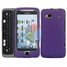 FOR HTC T-Mobile G2 Cover Hard Case Rubberized Purple