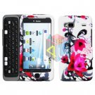 FOR HTC T-Mobile G2 Cover Hard Case W-Flower