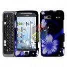 FOR HTC Desire Z Cover Hard Case B-Flower