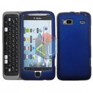 FOR HTC Desire Z Cover Hard Case Blue