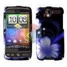 FOR HTC Desire Cover Hard Case B-Flower