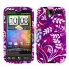 FOR HTC Desire Cover Hard Case P-Flower