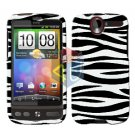 FOR HTC Desire Cover Hard Case Zebra