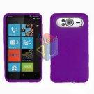 FOR HTC HD7 HD 7 Silicon cover soft case Purple