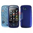 For LG Rumour Plus GW370 Cover Hard Case Blue