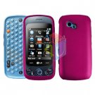 For LG Rumour Plus GW370 Cover Hard Case Rose Pink