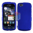 For LG Sentio GS505 Cover Hard Case Blue