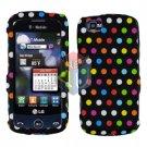 For LG Sentio GS505 Cover Hard Case R-Dot