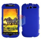 FOR HTC MyTouch 4G cover hard case Rubberized Blue