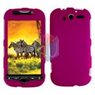 For HTC MyTouch 4G / Panache 4G Protector Screen + Cover Hard Case Rose Pink