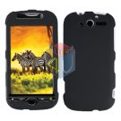 For HTC MyTouch 4G / Panache 4G Protector Screen + Cover Hard Case Black