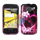 For Samsung Transform M920 Protector Screen + Cover Case Love
