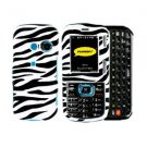 For LG Cosmos VN250 Cover Hard Case Zebra