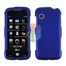 For LG Prime GS390 Cover Hard Case Blue