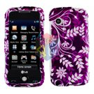 For LG Prime GS390 Cover Hard Case P-Flower
