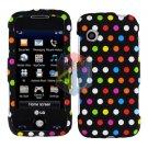 For LG Prime GS390 Cover Hard Case R-Dot