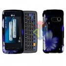 For LG Banter Touch UN510 Cover Hard Case B-Flower