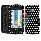 For LG Ally VS740 Cover Hard Case Polka Dot