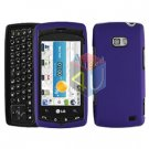For LG Ally VS740 Cover Hard Case Purple