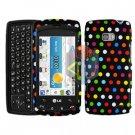 For LG Apex US740 Cover Hard Case R-Dot