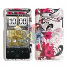 For HTC Aria Cover Hard Case W-Flower