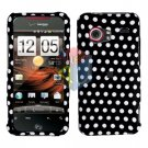 For HTC Droid incredible Cover Hard Case Polka Dot