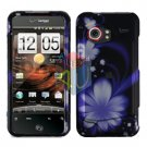 For HTC Droid incredible Cover Hard Case B-Flower