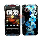 For HTC Droid incredible Cover Hard Case Flower