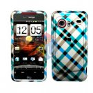 For HTC Droid incredible Cover Hard Case Plaid