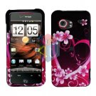 For HTC Droid incredible Cover Hard Case Love