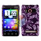 For HTC Evo 4G Cover Hard Case P-Flower
