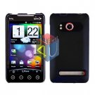 For HTC Evo 4G Cover Hard Case Rubberized Black