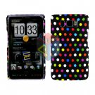 For HTC HD2 HD 2 Cover Hard Case R-Dot