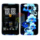 For HTC HD2 HD 2 Cover Hard Case Flower