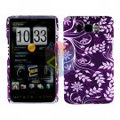 For HTC HD2 HD 2 Cover Hard Case P-Flower