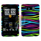 For HTC HD2 HD 2 Cover Hard Case Rainbow