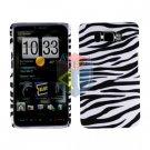 For HTC HD2 HD 2 Cover Hard Case Zebra