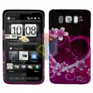 For HTC HD2 HD 2 Cover Hard Case Love
