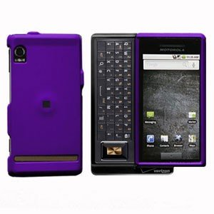 For Motorola Droid A855 Cover Hard Case Purple