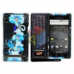 For Motorola Droid A855 Cover Hard Case Flower