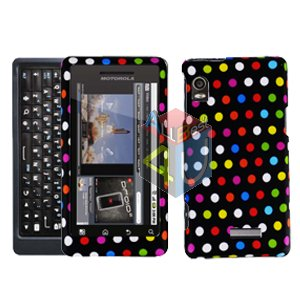 For Motorola Droid 2 A955 Cover Hard Case R-Dot