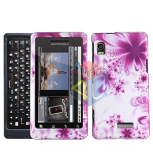 For Motorola Droid 2 A955 Cover Hard Case H-flower