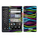 For Motorola Droid 2 A955 Cover Hard Case Rainbow
